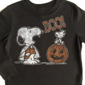 Snoopy Halloween shirt size 2T Woodstock pumpkin